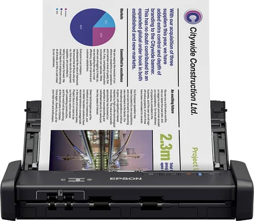 Best Buy Weekly Ad: Epson ES-200 Mobile Document Scanner for $199.99