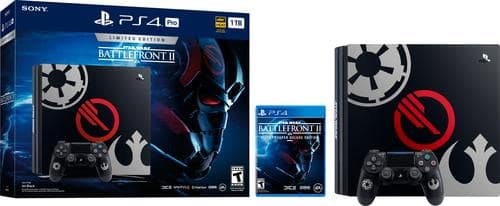 Best Buy Weekly Ad: PlayStation4 Pro 1TB Limited Edition Star Wars Battlefront II Console Bundle for $449.99