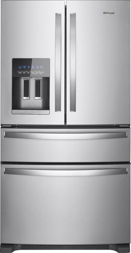 Best Buy Weekly Ad: Whirlpool - 24.5 cu. ft. 4-Door French Door Refrigerator for $1,499.99
