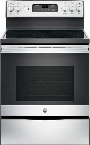 Best Buy Weekly Ad: GE - 5.3 cu. ft. Electric Convection Range for $499.99