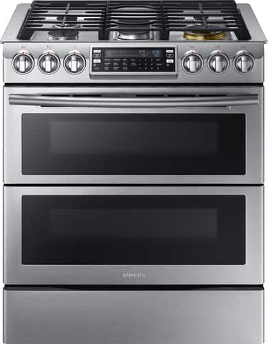 Best Buy Weekly Ad: Samsung - 5.8 cu. ft. Gas Slide-In Convection Range for $2,199.99