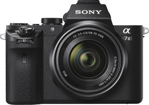 Best Buy Weekly Ad: Sony a7 Mark II with 28-70mm Lens for $1,799.99