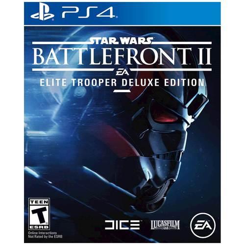 Best Buy Weekly Ad: Star Wars Battlefront II Elite Trooper Deluxe Edition - PS4/XB1 for $79.99