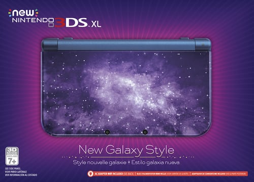 Best Buy Weekly Ad: Nintendo New Galaxy Style New Nintendo 3DS XL for $174.99