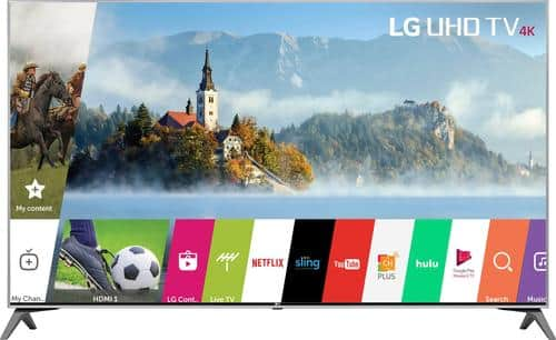 """Best Buy Weekly Ad: LG - 55"""" Class LED 4K Ultra HD Smart TV with High Dynamic Range for $699.99"""