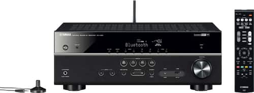 Best Buy Weekly Ad: Yamaha 5.1-Ch. Network-Ready 4K Ultra HD A/V Home Theater Receiver for $299.99