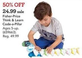 Toys R Us Black Friday: Fisher-Price Think & Learn Code-a-Pillar for $24.99