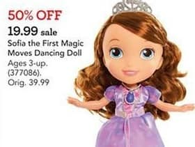 Toys R Us Black Friday: Sofia the First Magic Movies Dancing Doll for $19.99