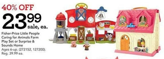 Toys R Us Black Friday: Fisher-Price Little People Surprise and Sounds Home for $23.99