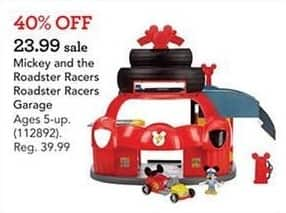Toys R Us Black Friday: Mickey and the Roadster Racers Roadster Racers Garage for $23.99