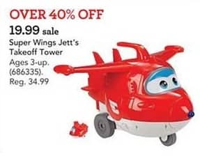 Toys R Us Black Friday: Super Wings Jett's Takeoff Tower for $19.99