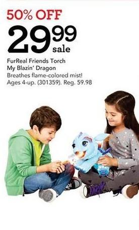Toys R Us Black Friday: FurReal Friends Torch My Blazin' Dragon for $29.99