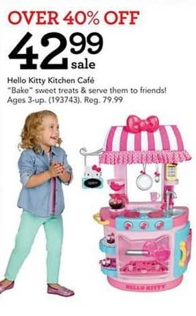 Toys R Us Black Friday: Hello Kitty Kitchen Café for $42.99