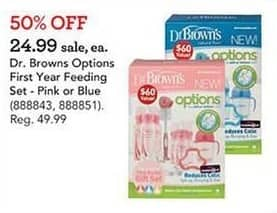 Toys R Us Black Friday: Dr. Browns Options First Year Feeding Set for $24.99
