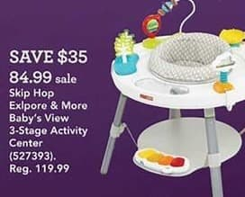 Toys R Us Black Friday: Skip Hop Explore & More Baby's View 3-Stage Activity Center for $84.99