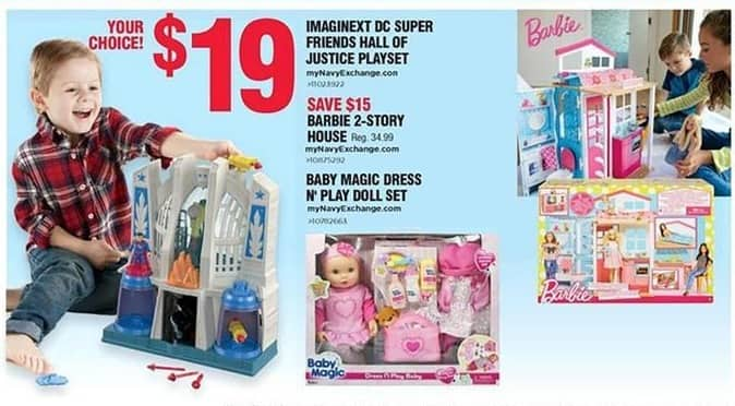 Navy Exchange Black Friday: Baby Magic Dress N' Play Doll Set for $19.00