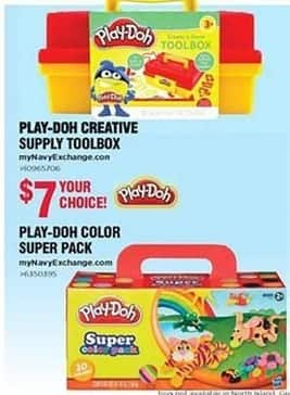 Navy Exchange Black Friday: Play-Doh Creative Supply Toolbox for $7.00