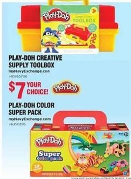 Navy Exchange Black Friday: Play-Doh Color Super Pack for $7.00
