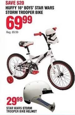Navy Exchange Black Friday: Star Wars Storm Trooper Bike Helmet for $29.99