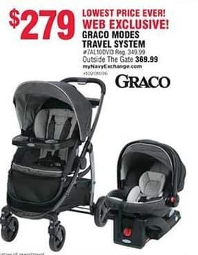 Navy Exchange Black Friday: Graco Modes Travel System for $279.00