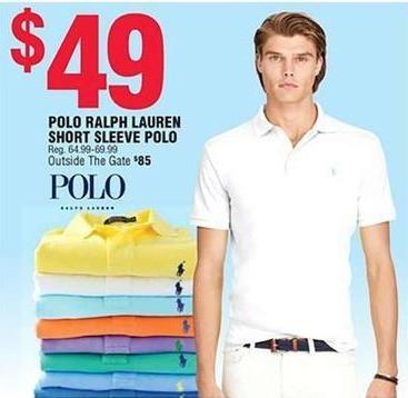 Navy Exchange Black Friday: Polo Ralph Lauren Short Sleeve Polo for $49.00