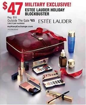 Navy Exchange Black Friday: Estee Lauder Holiday Blockbuster for $47.00