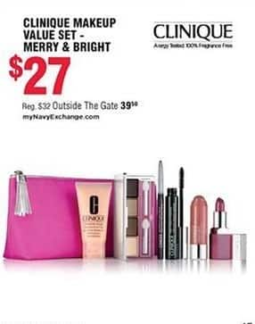 Navy Exchange Black Friday: Clinique Makeup Value Set - Merry & Bright for $27.00