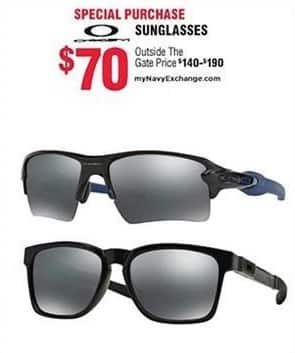 Navy Exchange Black Friday: Oakley Sunglasses for $70.00