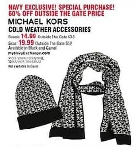 Navy Exchange Black Friday: Michael Kors Scarf for $19.99