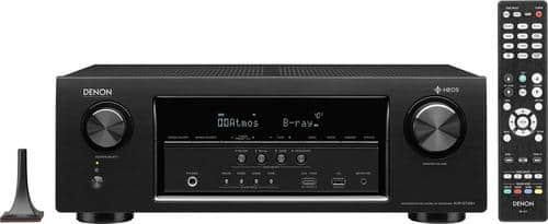 Best Buy Weekly Ad: Denon 7.2-Ch. Hi-Res 4K Ultra HD A/V Home Theater Receiver for $349.99