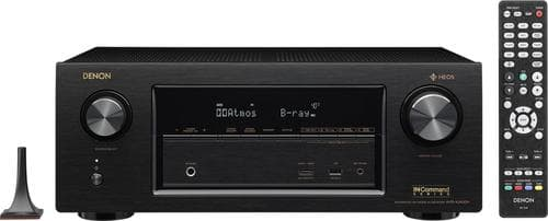 Best Buy Weekly Ad: Denon AVRX2400H 7.2-Ch. Hi-Res with HEOS 4K Ultra HD HDR-Compatible A/V Receiver for $599.98