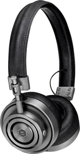 Best Buy Weekly Ad: Master & Dynamic MH30 On-Ear Headphones in Gunmetal and Black for $179.98
