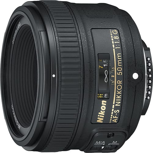 Best Buy Weekly Ad: Nikon 50mm f/1.8G Lens for $179.99