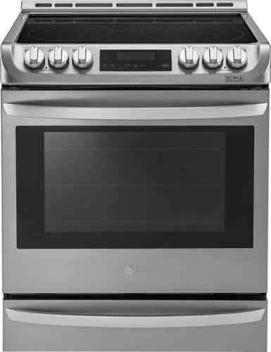 Best Buy Weekly Ad: LG - 6.3 cu. ft. Electric Slide-In Convection Range for $1,199.99