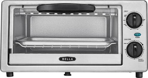 Best Buy Weekly Ad: Bella 4-Slice Toaster Oven - Silver for $19.99