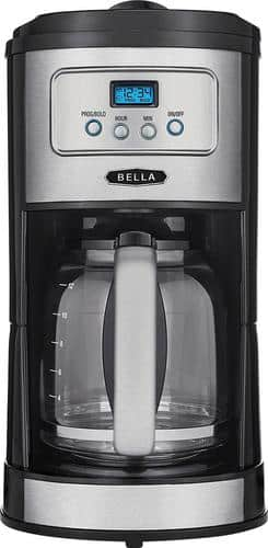 Best Buy Weekly Ad: Bella Classics 12-Cup Coffeemaker for $19.99
