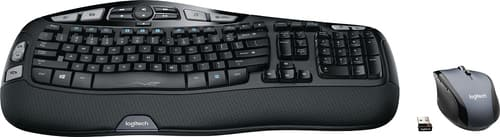 Best Buy Weekly Ad: Logitech MK570 Comfort Wave Wireless Keyboard and Optical Mouse for $59.99