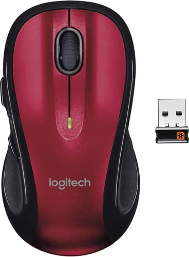 Best Buy Weekly Ad: Logitech M510 Wireless Laser Mouse - Red for $19.99