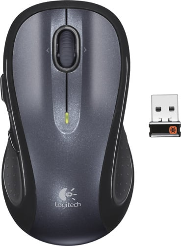 Best Buy Weekly Ad: Logitech M510 Wireless Laser Mouse - Silver/Black for $19.99