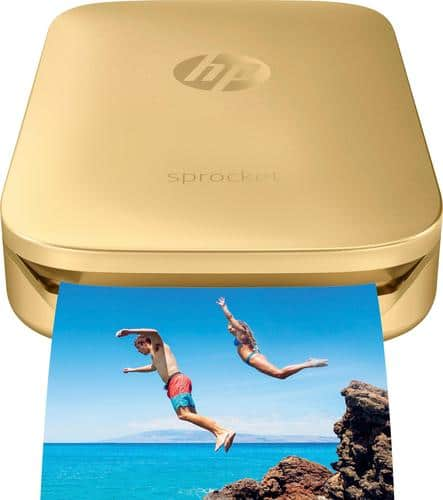Best Buy Weekly Ad: HP Sprocket Photo Printer - Gold for $129.95