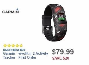 Best Buy Weekly Ad: Garmin - vívofit jr 2 Activity Tracker - First Order for $79.99