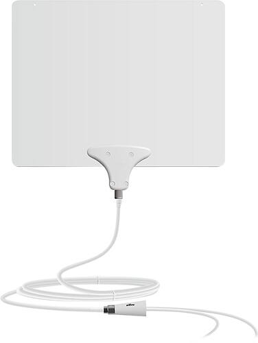 Best Buy Weekly Ad: Mohu Leaf 50 Amplified Indoor HDTV Antenna for $49.99