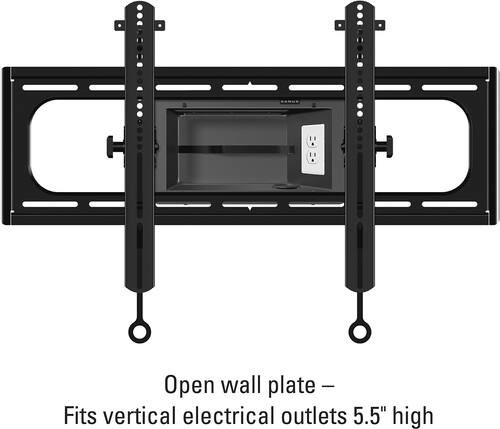 "Best Buy Weekly Ad: Sanus Tilting TV Wall Mount For Most 37""-95"" TVs - Black for $69.98"