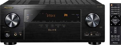 Best Buy Weekly Ad: Pioneer Elite VSX-LX302 7.2-Ch. Hi-Res 4K Ultra HD HDR Compatible A/V Home Theater Receiver for $499.98