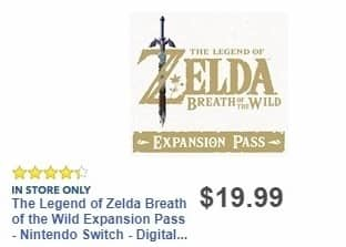 Best Buy Weekly Ad: Legend of the Zelda Expansion Pass for $19.99
