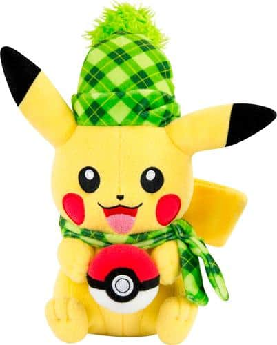 """Best Buy Weekly Ad: Pokmon 8"""" Holiday Pikachu Plush for $19.99"""