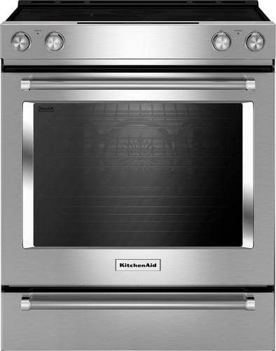 Best Buy Weekly Ad: KitchenAid - 6.4 cu. ft. Electric Slide-In Convection Range for $1,399.99