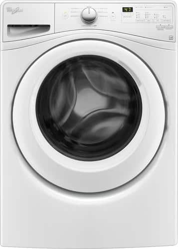 Best Buy Weekly Ad: Whirlpool - 4.5 cu. ft. 8-Cycle High-Efficiency Front Load Washer for $599.99