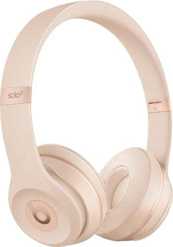 Best Buy Weekly Ad: Beats Solo3 Matte Gold for $299.99