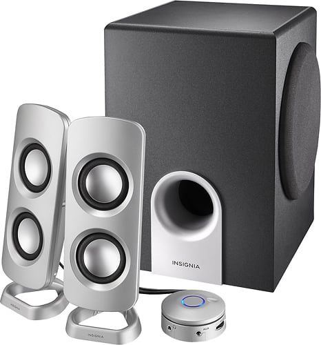 Best Buy Weekly Ad: Insignia Powered Computer Speakers with Subwoofer for $34.99
